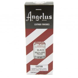 Angelus Heel and Sole Polish Black