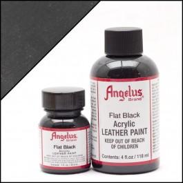 Angelus Leather Paint Flat Black