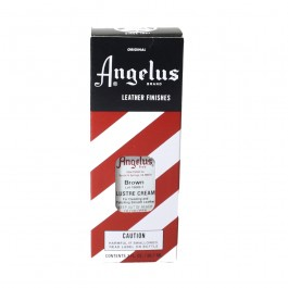 Angelus Lustre Cream Brown 3oz