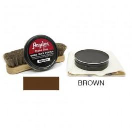 Angelus Shoe Wax Polish Brown