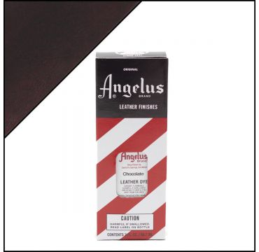 Angelus Leather Dye Chocolate 3oz