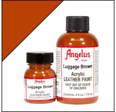 Angelus Leather Paint Luggage Brown