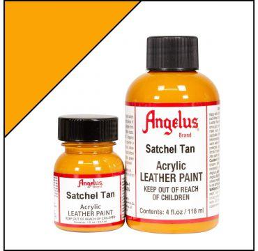 Angelus Leather Paint Satchel Tan