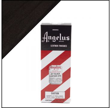 Angelus Leather Dye Jet Black 3oz