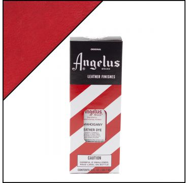 Angelus Leather Dye Mahogany 3oz