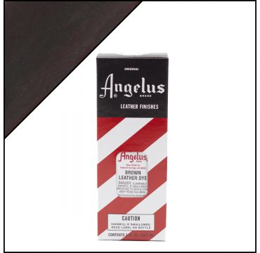Angelus Leather Dye Brown 3oz