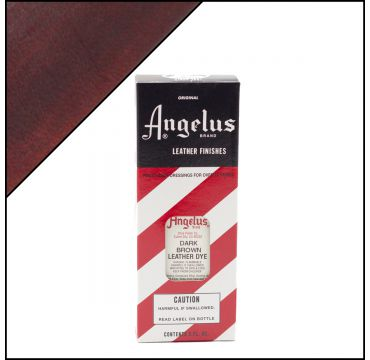 Angelus Leather Dye Dark Brown 3oz