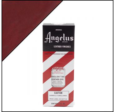 Angelus Leather Dye English Tan 3oz