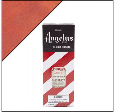 Angelus Leather Dye Light Brown 3oz