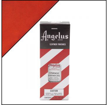 Angelus Leather Dye Orange 3oz