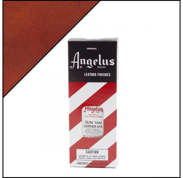 Angelus Leather Dye Sun Tan 3oz