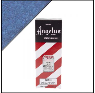 Angelus Leather Dye Light Blue 3oz