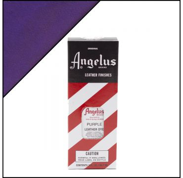Angelus Leather Dye Purple 3oz