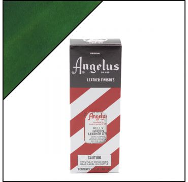 Angelus Leather Dye Kelly Green 3oz