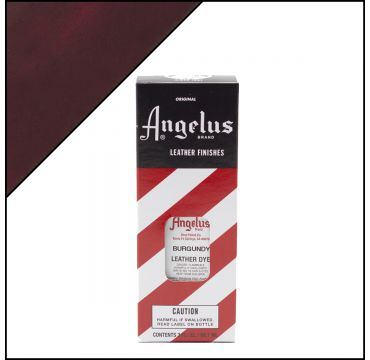 Angelus Leather Dye Burgundy Red 3oz