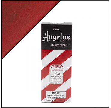 Angelus Leather Dye Red 3oz