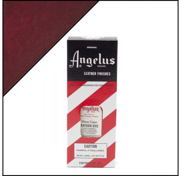 Angelus Leather Dye Wine 3oz