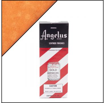 Angelus Leather Dye Gold 3oz