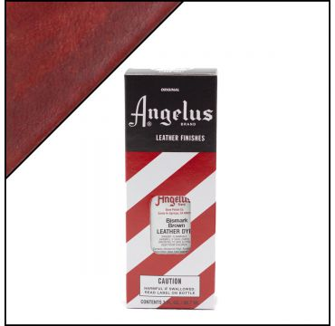 Angelus Leather Dye Bismarck Brown 3oz