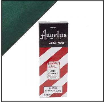 Angelus Leather Dye Jade 3oz