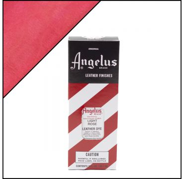 Angelus Leather Dye Light Rose 3oz