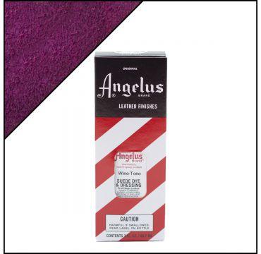 Angelus Suede Dye Wine-tone 3oz