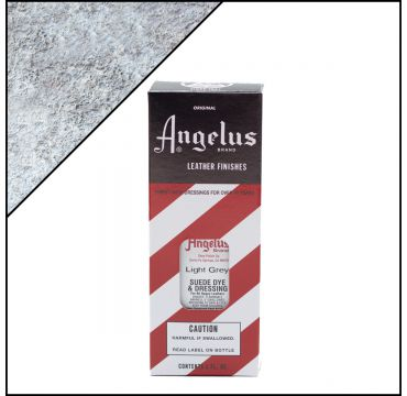 Angelus Suede Dye Light Grey 3oz