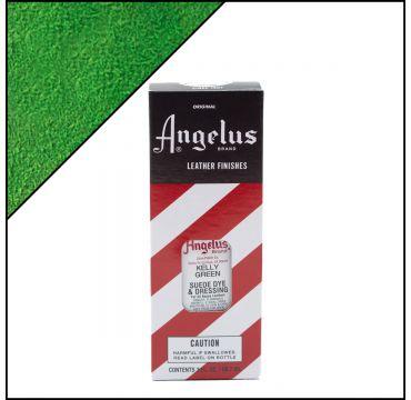 Angelus Suede Dye Kelly Green 3oz