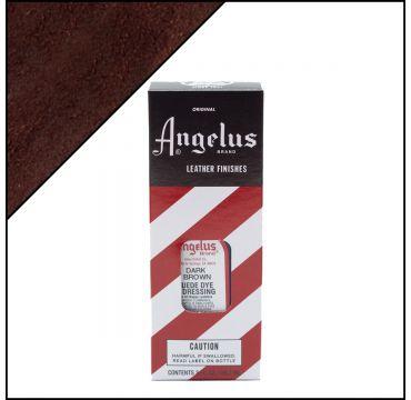 Angelus Suede Dye Dark Brown 3oz