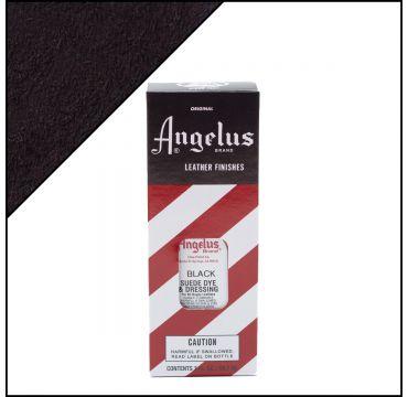 Angelus Suede Dye Black 3oz