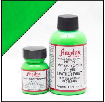 Angelus Leather Paint Amazon Green