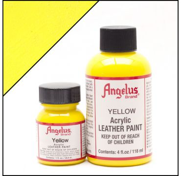 Angelus Leather Paint Yellow