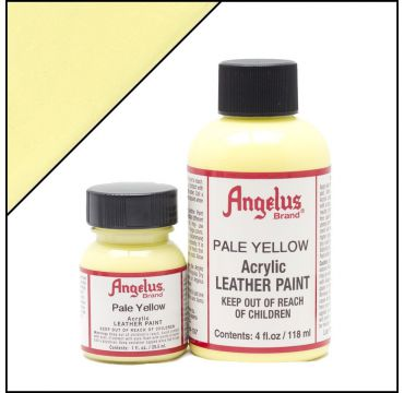 Angelus Leather Paint Pale Yellow