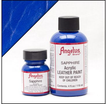 Angelus Leather Paint Sapphire