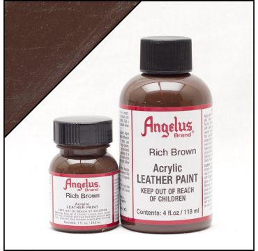 Angelus Leather Paint Rich Brown