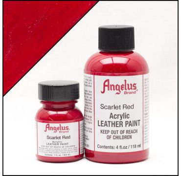Angelus Leather Paint Scarlet Red