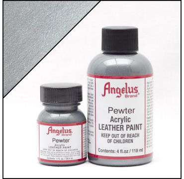 Angelus Leather Paint Pewter