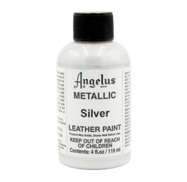 Angelus Leather Paint Silver