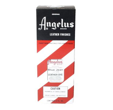 Angelus Leather Dye Blue Jean 3oz