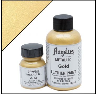 Angelus Leather Paint Gold
