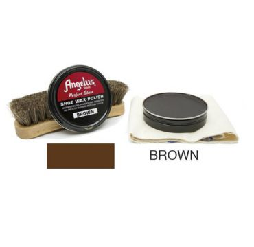 Angelus Shoe Wax Polish Brown