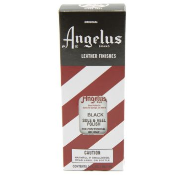 Angelus Heel and Sole Polish Black